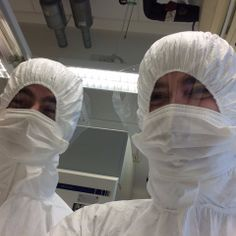 Kevin & Alessandro in the ancient DNA lab